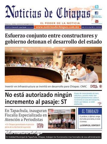 ELECTRONICA 06 DICIEMBRE 2012.indd - Noticias de Chiapas