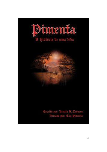 Pimenta - A História de uma Vida - Scpd.com.br