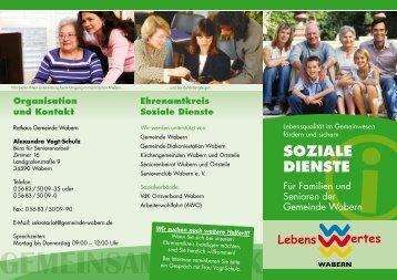 Soziale DienSte - Gemeinde Wabern