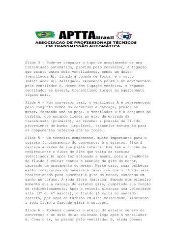 Slide 3 – Pode-se comparar o tipo de acoplamento ... - Oficina Brasil