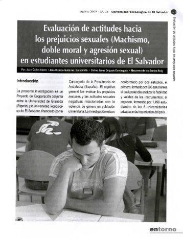 Evaluación de actitudes hacia los prejuicios sexuales - Universidad ...