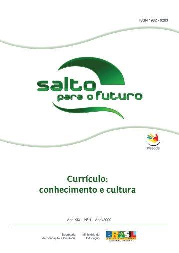Currículo: conhecimento e cultura - TV Brasil