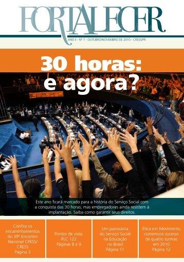 7ª edição – Revista Fortalecer - CRESS-PR
