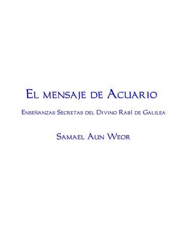 El mensaje de Acuario - Iglesia Cristiana Gnóstica Litelantes y ...