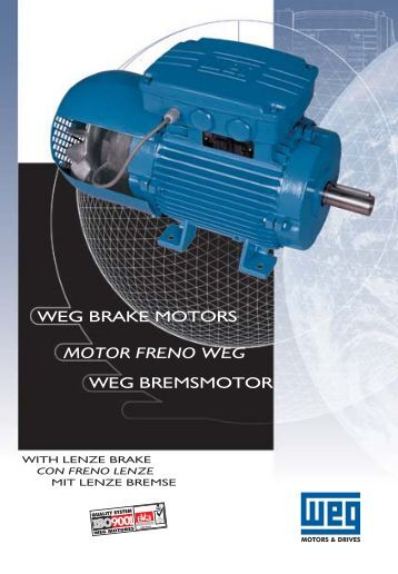 motor freno WEG