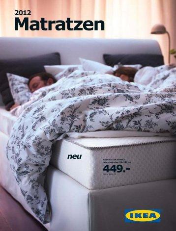 IKEA Matratzen 2012