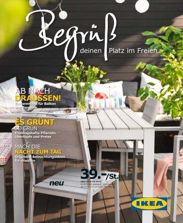 IKEA Begrüß deinen Platz im Freien 2012