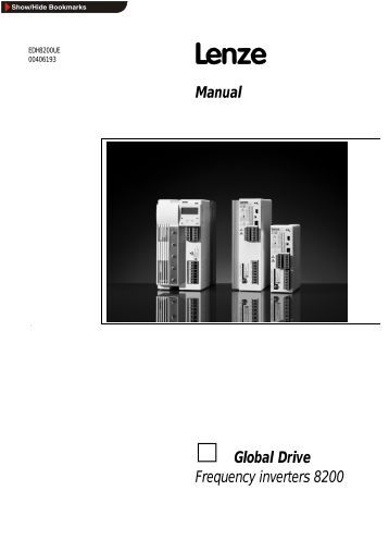 Manual = Global Drive Frequency inverters 8200 - ES Documentation