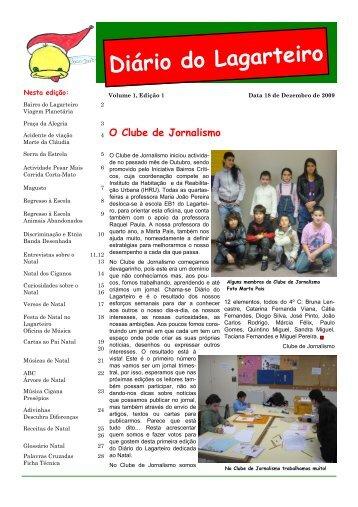 Diário do Lagarteiro Nº 1 - Portal da Habitação