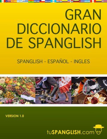 Diccionario de Spanglish