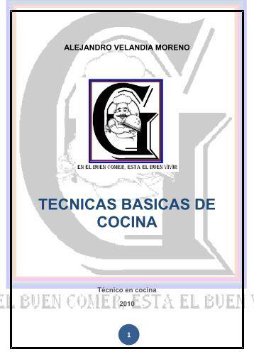 T cnicas b sicas de germinaci n para guaqueta trading for Manual de tecnicas de cocina