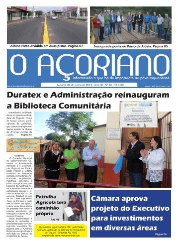 baixas - Prefeitura Municipal de Taquari