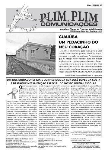 guaiúba um pedacinho do meu coração - Portal do Jornal Escolar