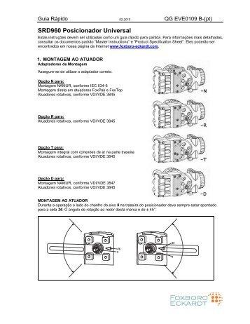 SRD960 Posicionador Universal