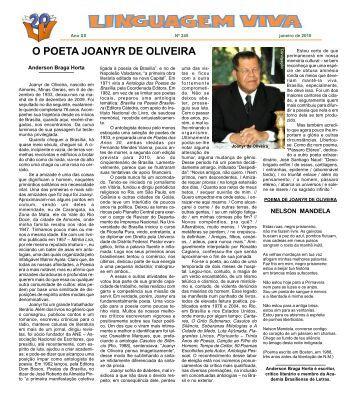 O POETA JOANYR DE OLIVEIRA - Linguagem Viva