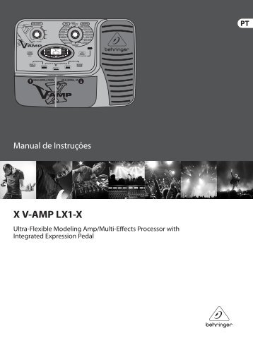 X v amp behringer patches for jackets