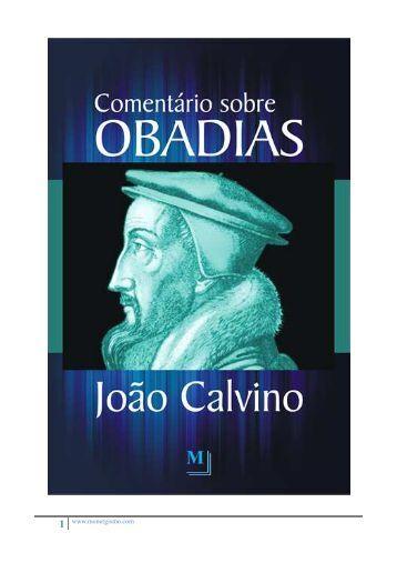 Comentários sobre Obadias - Monergismo