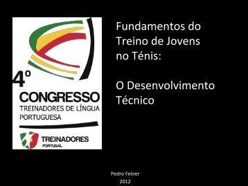 Fundamentos do Treino de Jovens no Ténis: O Desenvolvimento ...