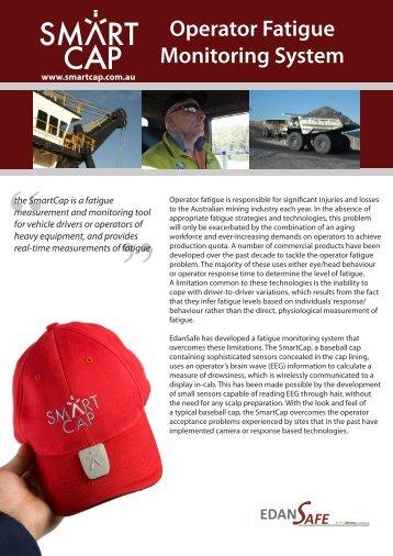 Operator Fatigue Monitoring System - SmartCap