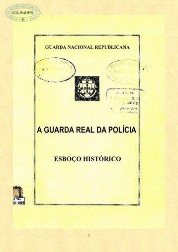 a guarda real da polícia - Arquivo Histórico da Guarda Nacional ...