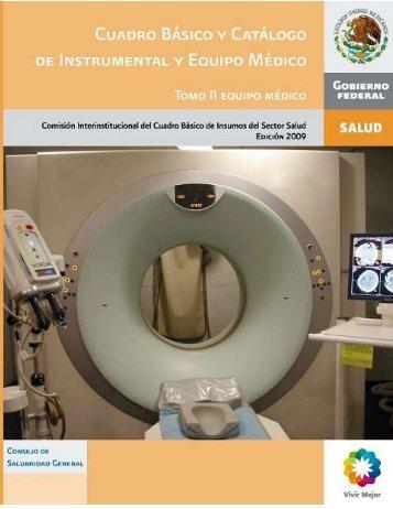 CATALOGO II EQUIPO MEDICO - Servicios de Salud de Yucatán