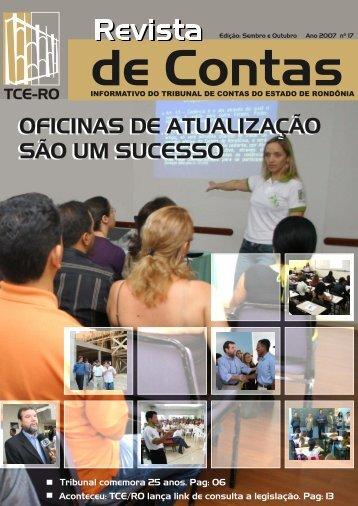 Informativo 17 - Tribunal de Contas do Estado de Rondônia