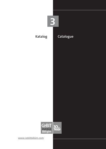 Katalog Catalogue - CeBIT Bilişim Eurasia