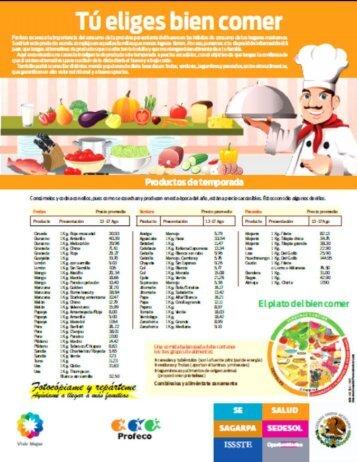 Page 1 Tú eliges bien comer (mh I MI. ...lil Page 2 ...