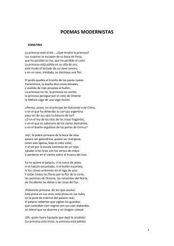 Poemas Modernistas | newhairstylesformen2014.com