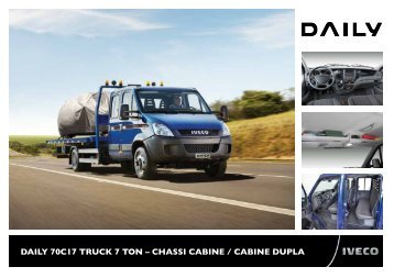 DAILY 70C17 TruCk 7 Ton – ChAssI CAbIne / CAbIne ... - Iveco Daily