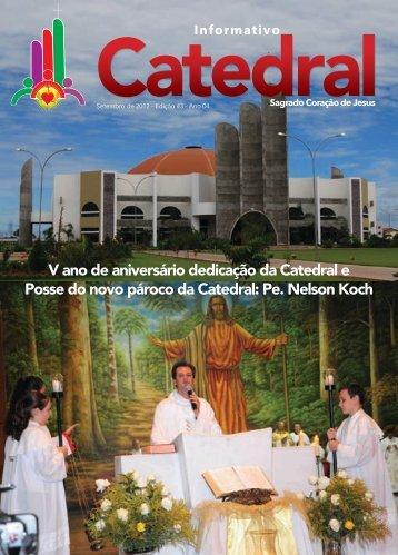 Informativo - Catedral Sagrado Coração de Jesus - Sinop/MT