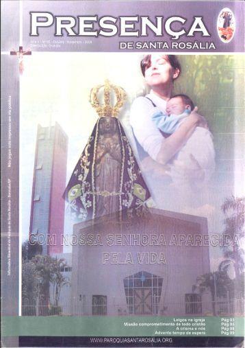 Leigos na igreja Pág 03' - Paróquia de Santa Rosália