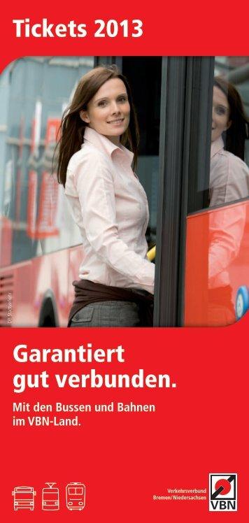 Faltblatt Tickets 2013 - VBN