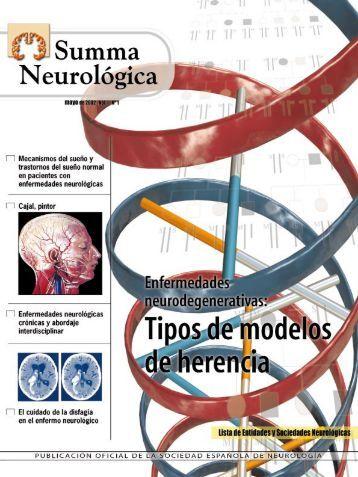 Enfermedades Neurodegenerativas: Tipos de ... - Ibañez y Plaza