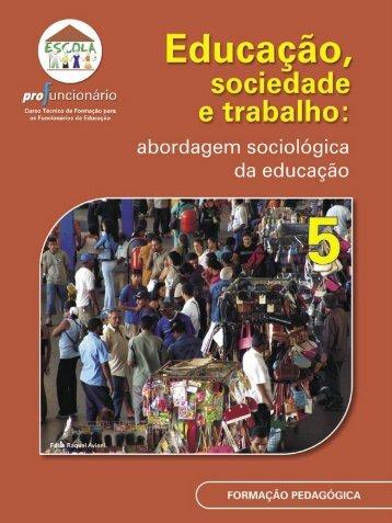 educação, sociedade e trabalho - Ministério da Educação
