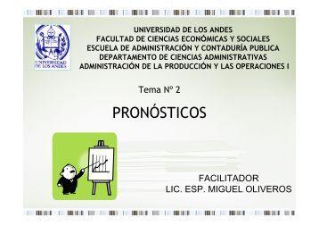 PRONÓSTICOS - Web del Profesor