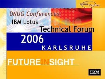 IBM Software Group - DNUG