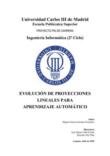Universidad Carlos III de Madrid - Archivo Abierto Institucional de la ...