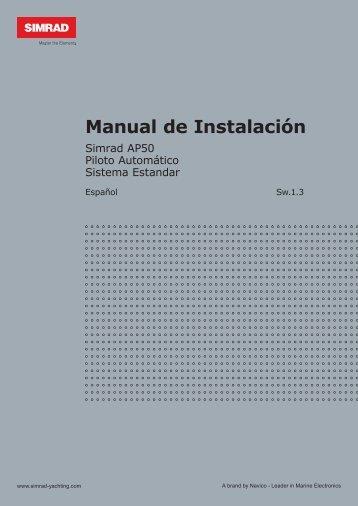 Manual de Instalación - Simrad Professional Series - Simrad Yachting
