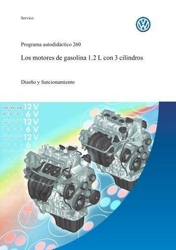 Los motores de gasolina 1.2 L con 3 cilindros - wikisanroque