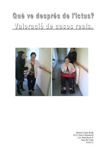 Accident Cerebrovascular (ACV) o Ictus - IES Narcís Monturiol