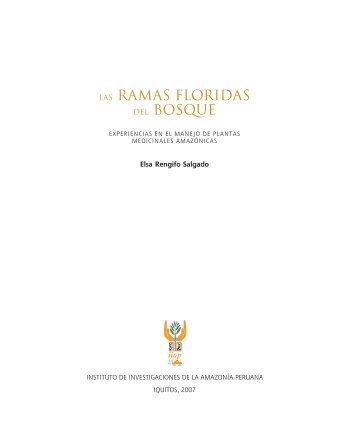 LAS RAMAS FLORIDAS DEL BOSQUE - Instituto de Investigaciones ...