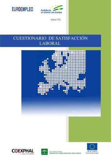CUESTIONARIO DE SATISFACCIÓN LABORAL - Coexphal