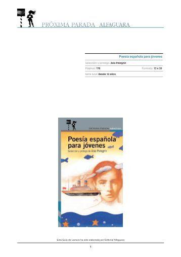 Poesía española para jóvenes - Alfaguara
