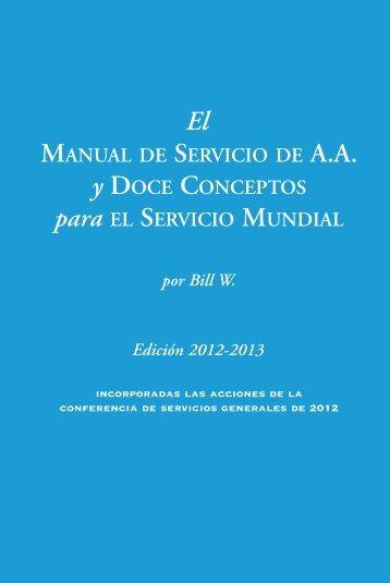 El Manual de Servicio de A.A. - Alcoholics Anonymous