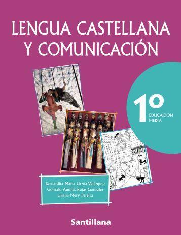 Lengua Castellana y Comunicación 1 - Santillana