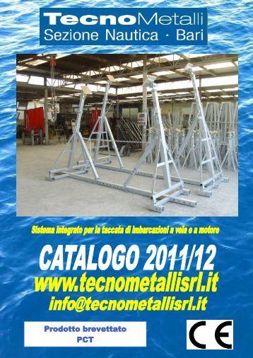 Catalogo Pdf - Tecnometalli s.r.l.