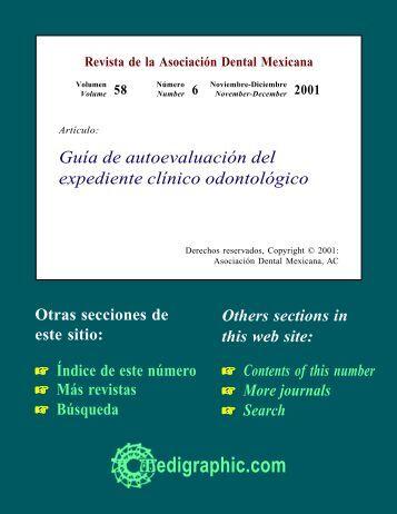 Guía de autoevaluación del expediente clínico ... - edigraphic.com