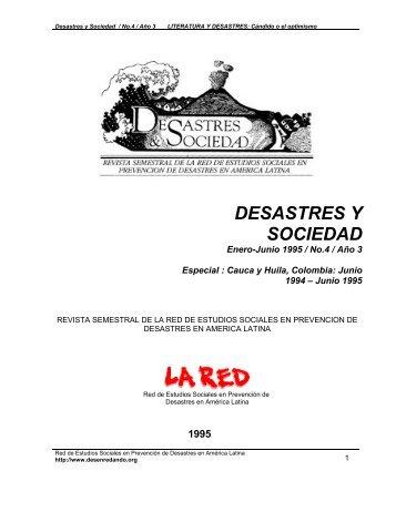 LITERATURA Y DESASTRES: CÁNDIDO O EL ... - La RED