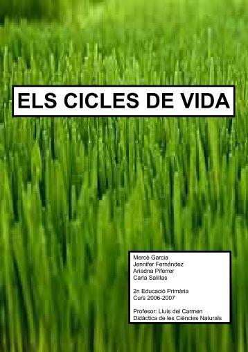 ELS CICLES DE VIDA - UdG